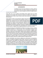 Informe Visita Al Proyecto Chavimochic