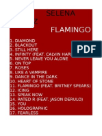 Selena Gomez - Flamingo Fake Album