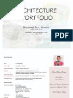 Anushree Architecture Portfolio