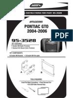 GTO Radio Install