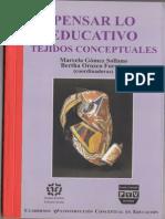 Formación de sujetos de la educación y configuraciones epistémico pedagógicas