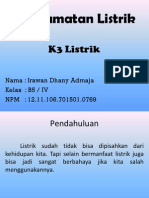 Keselamatan Listrik (K3 Listrik)