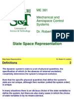 State Space Lecture
