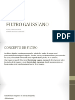 Filtro Lineal Gaussiano