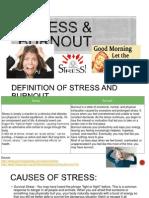 Presentation on STRESS n BURNOUT