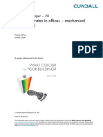 IP-20 - Ventilation Rates in Offices - Mechanical and Natural(1)