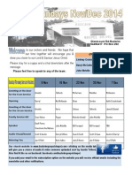 Newsletter Broadsheet 2014 Nov 7