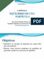 1. Ed_capítulo I_equilibrio de Una Partícula