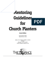 Mentoring Guidelines for Church Planters