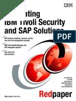 IBM Tivoli Security and SAP Solutions