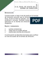 05 Verifica El Nivel de Aceite de La Bomba de Dirección