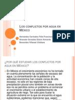 Los conflictos por agua en México.pptx