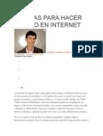 10 Ideas Para Hacer Dinero en Internet