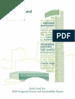 ALI Annual Report year 2010