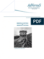 Adversus-Online16-17 Memoria e Historia vs Memoria o Historia