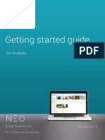 Students Guide to The Institute Courseware