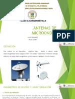antenas de microondas