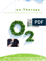 Oxygen Therapy CBPG
