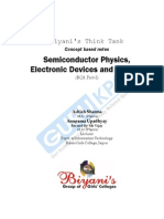 Semiconductor Physics, Electronic Devices and Circuits