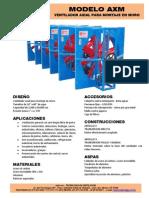 Airtec Ventiladores Industriales Axiales AXM