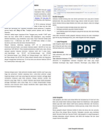 Potensi Geografis Indonesia