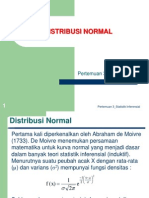 Materi P3 Distribusi Normal