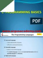 1st C- Programming Basics
