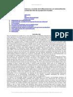 Historia e Impactos Economicos y Sociales Mecanizacion y Automatizacion