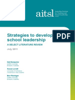 Strategies to Develop School Leadership