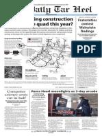 The Daily Tar Heel for Nov. 7, 2014