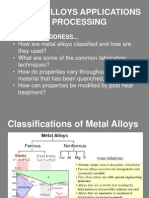 Nickel Alloys Applications and Processing