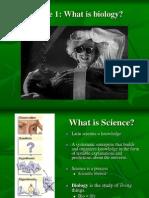 Module 01 What is Biology