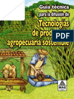 Tecnología agropecuaria sostenible