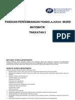 PPPM MATEMATIK Tingkatan2