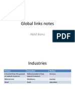 Global Links Notes