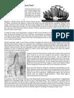 Zheng He Reading
