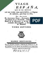 Antonio Ponz Extremadura Vol-7