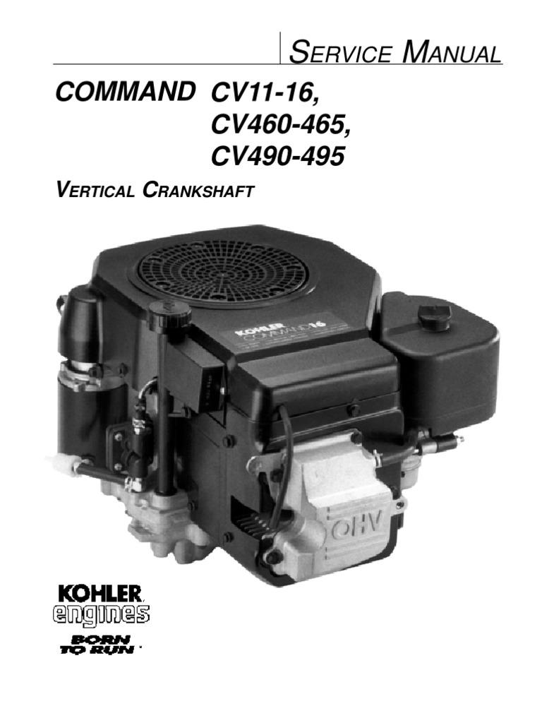 Kohler Command 16 Engine Diagram - Trusted Wiring Diagram