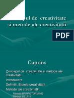 6. Conceptul de Creativitate