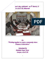 Report on Women's Day