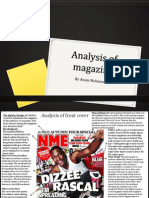 Analysis of Magazine