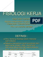 fisiologi kerja