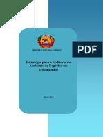 EMAN II - Estratégia para a Melhoria do  Ambiente de Negócios em  Moçambique2013 - 2017