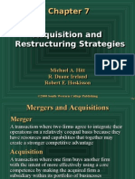 Aquisition and Restructuring