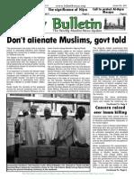 Friday Bulletin 601