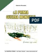 Storia Prima Guerra Mondiale PDF
