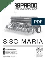 Operation Manual S-SC MARIA 2010-05 (G19503220)