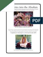 Inquiries Into the Absolute - Romapada Swami