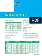 Outokumpu Duplex Stainless Steel Data Sheet