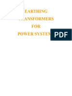 Earthing Transformers for Power Systems